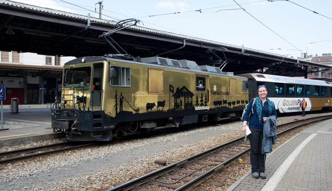 6003 in chocolate box livery