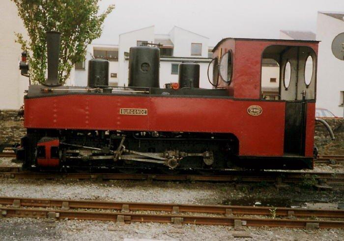 Visiting Feldbahn loco