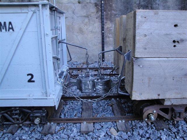 Coupled wagons