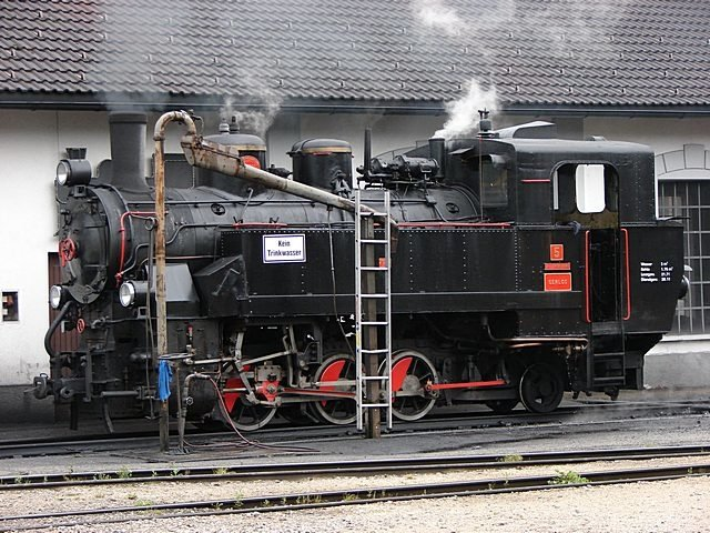 Zillertalbahn nbr. 5 at Jenbach