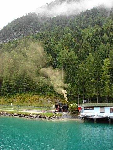 Achenseebahn nbr. 2 and the Achensee