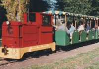 """Ruston & Hornsby loco, """"Murray"""", trundles thru the """"Oaks"""""""