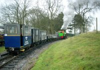 Excelsior shunting  the GWR P-Way set