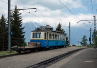 Bhe 207 at Caux