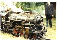 Completed loco