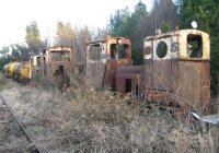 Withdrawn Locomotives at Boora Works