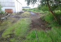 Track laying at Shed47 Lathalmond
