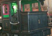 Cab of Mattole Lumber loco
