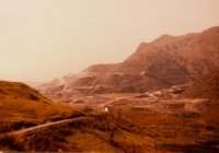 Oakley quarry from the Crimea Pass