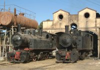 Asmara engine shed