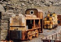 Bord Na Mona loco LM11 and a Ruston.