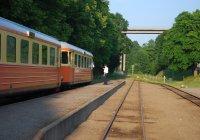 Train at Verkebäck