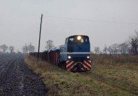 Lyd2 with train to Piotrkow Kujawski