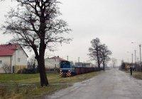 Lyd2-01 approaching Piotrków Kujawski