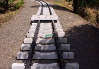 Track Relaying on approach to Liverpool Creek Bridge near Silkwood