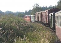 Mixed Train en route