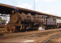 Steam loco at Niarobi station