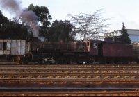 Steam loco at Niarobi