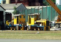 Engine Change on locomotive Douglas