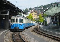 MOB train at Montreux